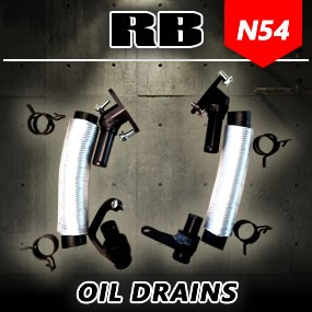 RB N54 High Flow Oil Drains