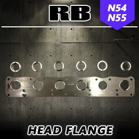 RB N54/N55 Head Flange with Inserts