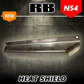 RB N54 Turbo Manifold Heat Shield