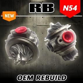 RB N54 OEM TD03L-10T CHRA Rebuilds