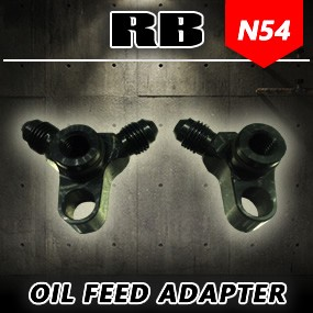 RB N54 Custom Oil Feed Bulkhead Adapter