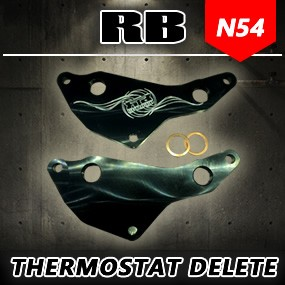 RB N54 Oil Cooler Thermostat Delete Plate