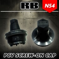 RB N54 PCV Valve Screw-on Cap