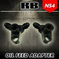 RB N54 Custom Oil Feed Bulkhead Adapter